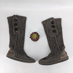 Ugg knitted boots sz 9